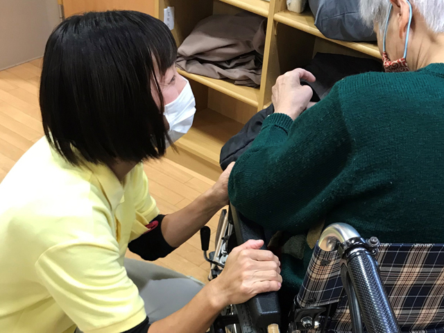 希望する時間・日数で就業出来ました|富士宮市 介護職員の声 イメージ